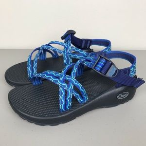 NEW Chaco Strappy Sport Sandals Blue Women's 6